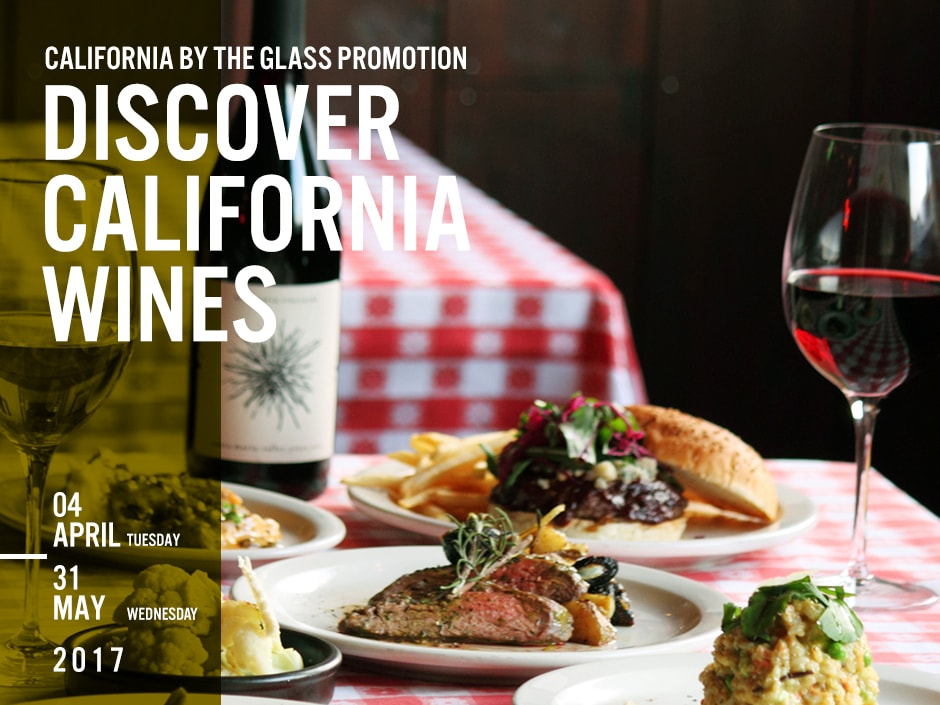 California By The Glass Promotion